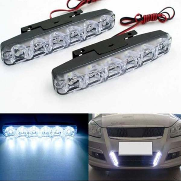 Pentair Universal Car Daylight 6-LED 2 Pcs Set