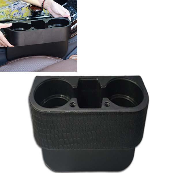Car Glass Holder Leather Poshish
