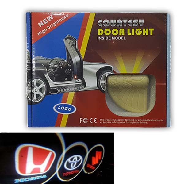 Door Welcome Projector Light Logo Inside