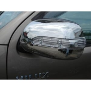 Indus Corolla Side Mirror Cover Chrome With LED Flasher Light 1995-2000