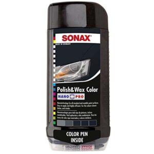 Sonax Polish And Wax Color Black
