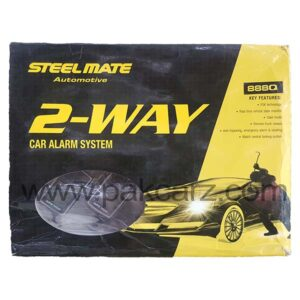 Steel Mate 2 Way Car Alarm Security System 888Q