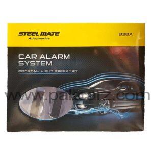 Steel Mate Car Alarm Security System 838X