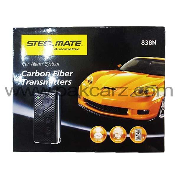 Steel Mate Car Alarm Security System Carbon Fiber Transmitters 838N