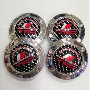 Universal Alloy Rim And Wheel Cup Cap TRD