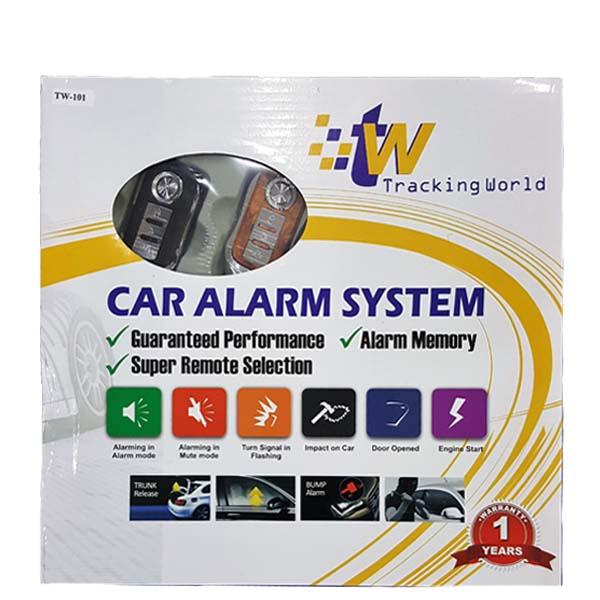 Tracking World Car Alarm Security System