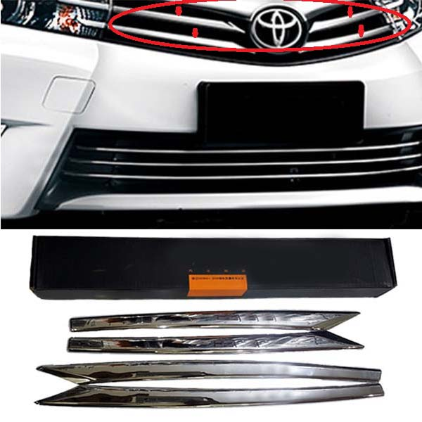 Toyota Corolla Front Grill Chrome 2017