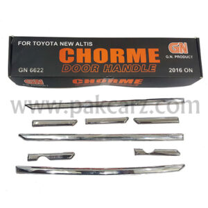 Toyota Corolla Chrome Handle Cover Model 2015-2020