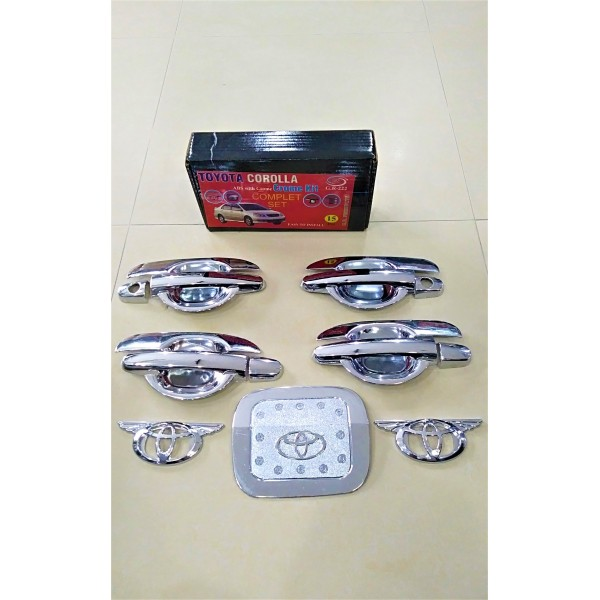 Toyota Corolla Chrome Kit Model 2001-2007