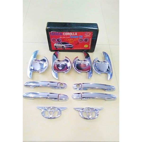 Toyota Corolla Chrome Kit Model 2009-2014