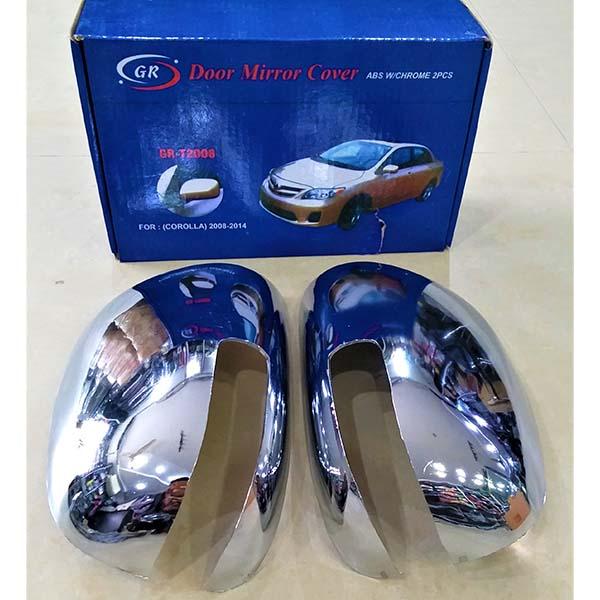 Toyota Corolla Side Mirror Cover Chrome Model 2008-2014