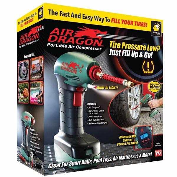 Universal Car Air Compressor Air Dragon