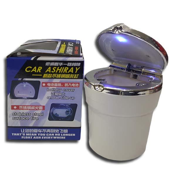 Universal Car Ashtray With Blue LED