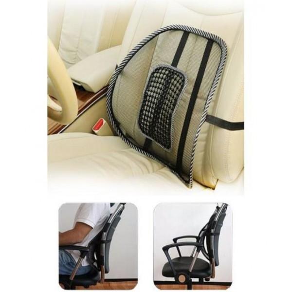 Universal Car Back Lumbar Support Massage Cushion Jali