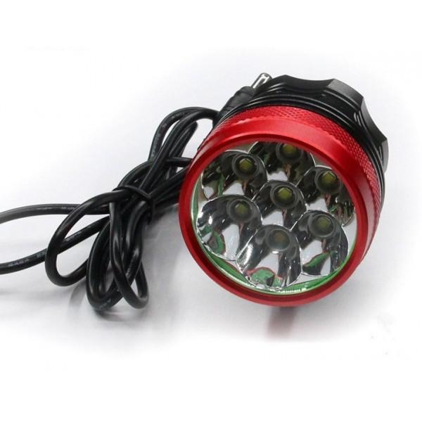 Universal Car/Bike 4 LED High Luminance Lamp