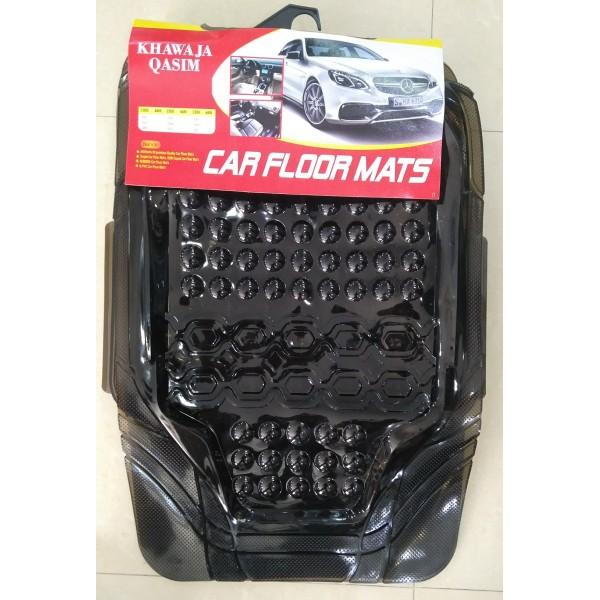 Universal Car Floor Mat Crystal Smoke 3Pcs 095