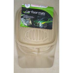 Universal Car Floor Mat PVC Beige