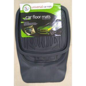Universal Car Floor Mat PVC Black