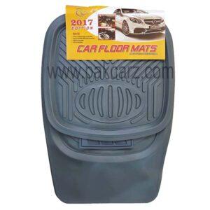 Universal Car Floor Mat PVC Gray