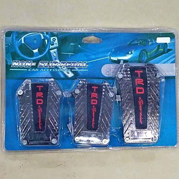 Universal Car Non Slip Paddle Pad Cover TRD Sports