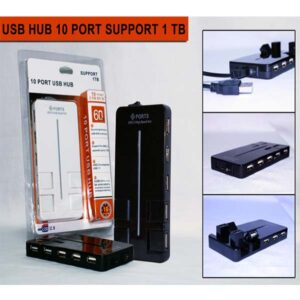 Universal Car USB 10 Ports Hub 1TB
