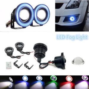 Universal Fog Light Angle Eyes Light Ring 2pcs