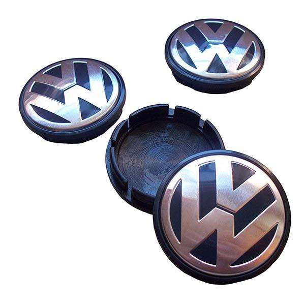 Universal Alloy Rim And Wheel Cup Cap Volkswagen