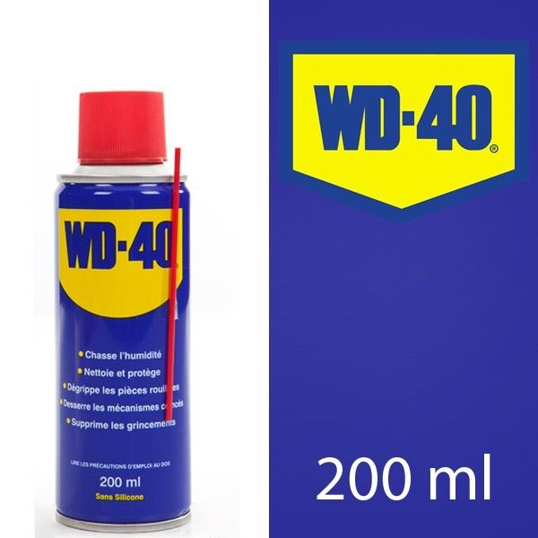 WD 40 With Free Silicone 200ml