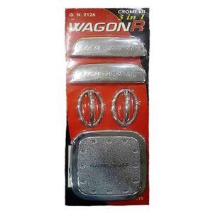 Suzuki Wagon R Chrome Kit 3 in 1