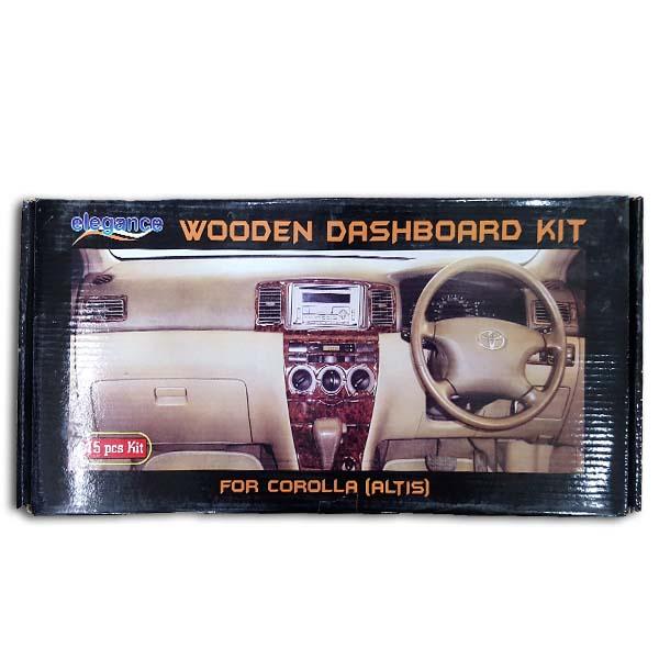 Toyota Corolla Dashboard Wooden Kit 2001-2006