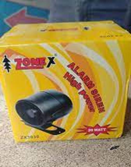 Zonex Alarm Siren High Power 20w ZX510