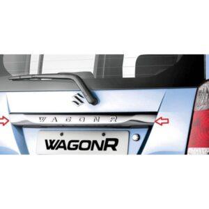 Suzuki Wagon R Back Bumper Protector Chrome