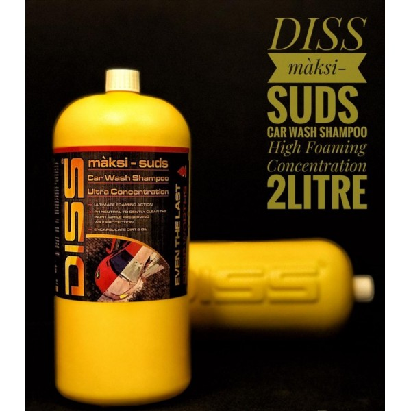 DISS Car Wash Shampoo and Conditioner 2 Liter
