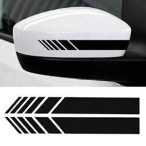Rearview Mirror Vinyl Car Stickers for Car Decor