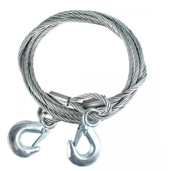 Universal Auto Steel Tow Rope Cable 8mm