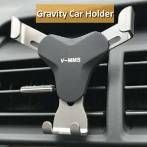 Metallic In Car Vents Mount HT-862