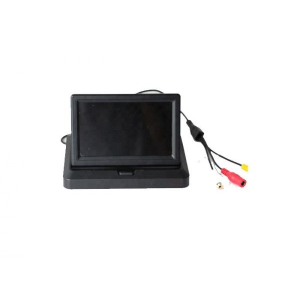 Universal HD 5 Inch Color Car TFT LCD Monitor Foldable Rearview StandAlone Monitor